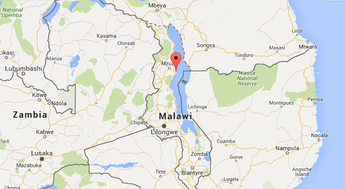 Banda Bola Sports Foundation Malawi Map - Malawi map